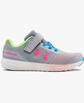 Zapatos UA Surge RN Prism para Niña de Preescolar