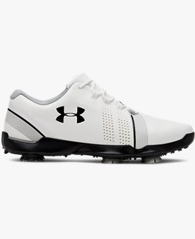 Boys' UA Spieth 3 Jr. Golf Shoes