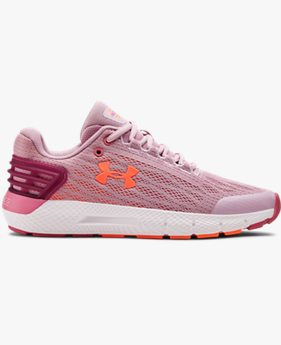 Girls' Grade School UA Charged Rogue Running Shoes