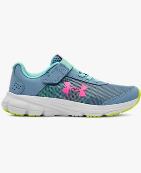 Girls' Pre-School UA Rave 2 NP AC Running Shoes