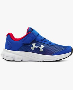Sepatu Lari Pre-School UA Rave 2 NP AC untuk Pria Muda