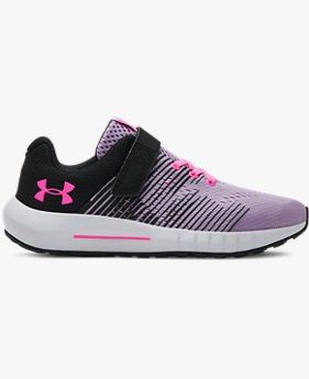 Girls' Pre-School UA Pursuit NG AC Shoes