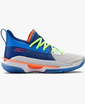 Scarpe da basket Grade School UA Curry 7
