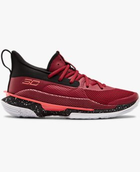 Kids' Grade School UA Curry 7 Basketball Shoes