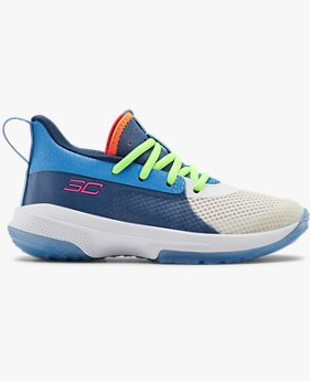 UA Pre-School Curry 7 Basketball Shoes