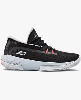 Grade School UA SC 3ZER0 III Basketball Shoes