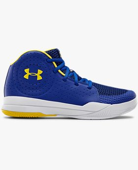 Grade School UA Jet 2019 Basketball Shoes