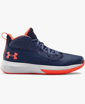 Scarpe da basket Grade School UA Lockdown 4