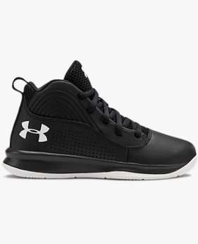 Pre-School UA Lockdown 4 Basketball Shoes