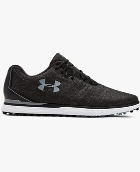 Zapatillas de golf UA Showdown SL Sunbrella Wide E para hombre