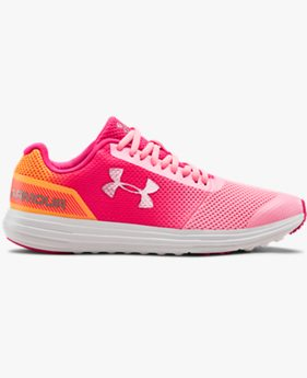 Girls' Grade School UA Surge RN Prism Shoes