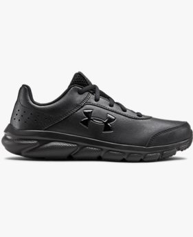 Primary School UA Assert 8 Uniform Synthetic Running Shoes