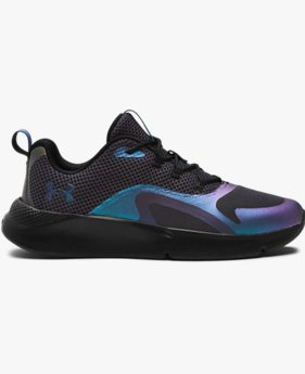 Damen UA Charged RC OIL SLCK Iridescent Sportstyle Schuhe