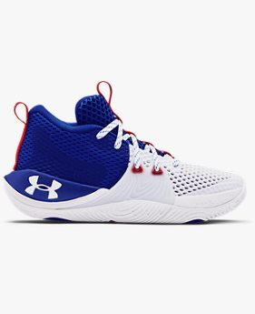 Grade School UA Embiid One Basketball Shoes