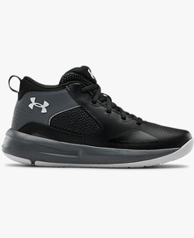 Grade School UA Lockdown 5 Basketball Shoes