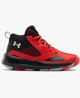Pre-School UA Lockdown 5 Basketball Shoes