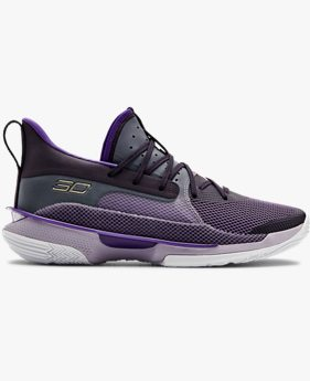 Unisex UA Curry 7 'BAMAZING' Basketball Shoes