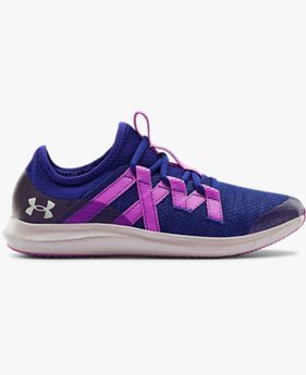 Girls' Grade School UA Infinity 3 Frosty Running Shoes