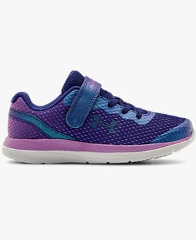 Girls' Pre-School UA Impulse AC Frosty Running Shoes