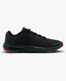 Boys' Grade School UA Charged Pursuit 2 Venom Running Shoes