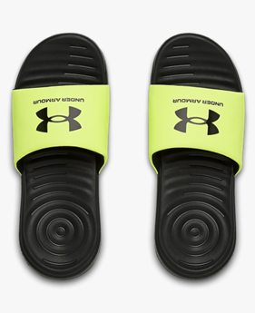 Boys' UA Ansa Fixed Slides