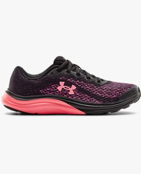 Girls' Grade School UA Liquify Rebel Running Shoes