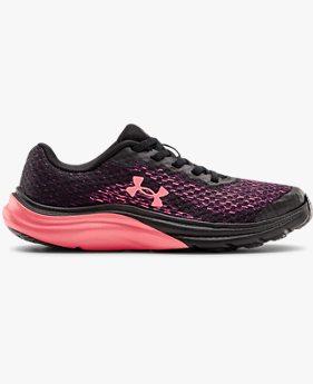 Girls' Pre-School UA Liquify Rebel AL Running Shoes