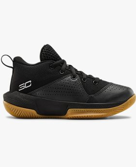 Pre-School UA SC 3ZER0 IV Basketball Shoes