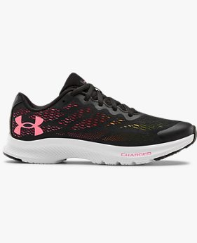Girls' Primary School UA Charged Bandit 6 Running Shoes