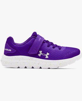 Girls' Pre-School UA Surge 2 AC Fade Running Shoes