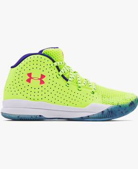 Grade School UA Jet Splash Basketball Shoes