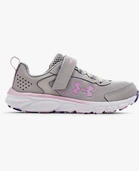 Girls' Pre-School UA Assert 9 AC Running Shoes