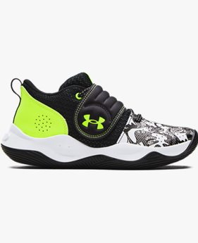 Grade School UA Zone BB Colorshift Basketball Shoes
