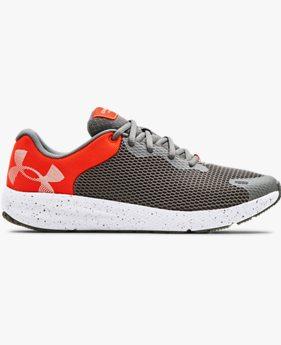 Men's UA Charged Pursuit 2 Big Logo Speckle Running Shoes
