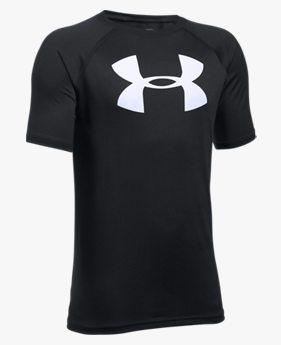 Camiseta de Treino Infantil Masculina Under Armour Tech Big logo