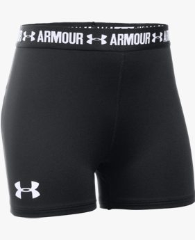 "Shorty UA HeatGear® Armour 3"" (8 cm) para Niña"