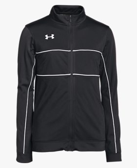 Boys' UA Rival Knit Warm-Up Jacket
