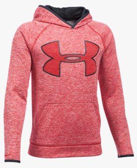 Erkek Çocuk UA Armour® Fleece Highlight Twist Kapüşonlu Üst