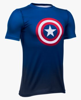 Boys' Under Armour® Alter Ego Marvel Fitted Baselayer