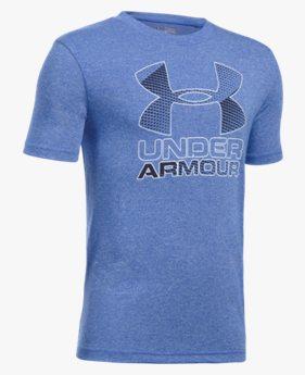Camiseta UA Hybrid Big Logo Infantil Masculina