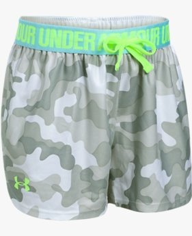 Shorts UA Play Up Printed Infantil Feminino
