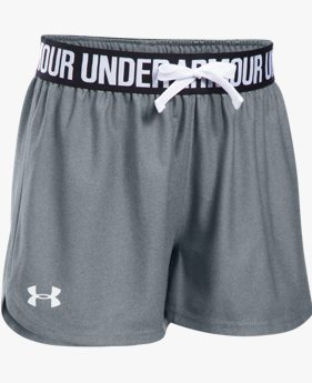 Shorts UA Play Up - Infantil Feminino
