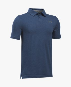 Boys' Charged Cotton® Heather Polo