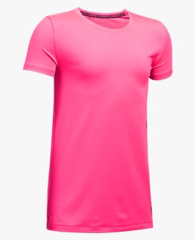 Camiseta de Treino Infantil Feminina Under Armour
