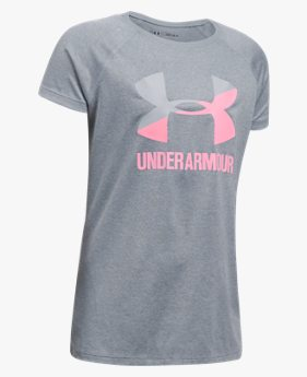 Camiseta UA Big Logo - Infantil Feminina