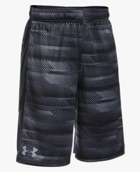 Shorts UA Stunt Printed Infantil Masculino