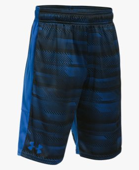 Shorts de Treino Infantil Masculino Under Armour Stunt Printed