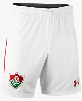 Shorts de Futebol Fluminense Masculino Under Armour Oficial Away