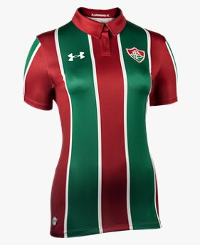 Camisa Fluminense Feminina Under Armour Home Oficial