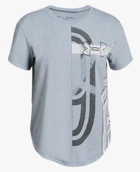 걸즈 UA SPWW 그래픽 반팔 티셔츠